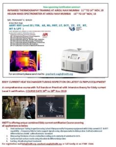 Infrared Thermography Training at Airoli Navi Mumbai