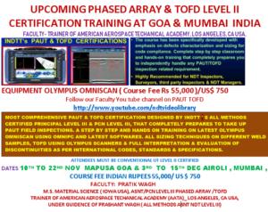 Certification Training At Goa n Mumbai