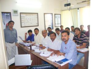 Classroom Training at INDTT