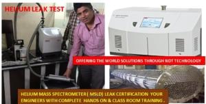 Helium Mass Spectrometer Training